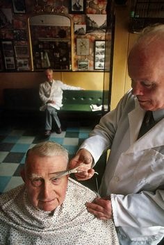 Barbershop in Ireland by JC Richardson, via Flickr