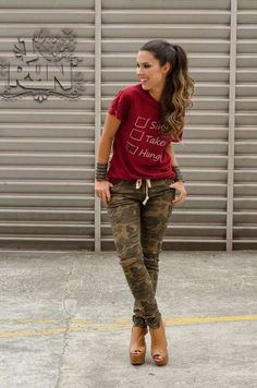 36 Ideas De Comando Camouflaje Jeans Moda Moda Para Mujer Ropa