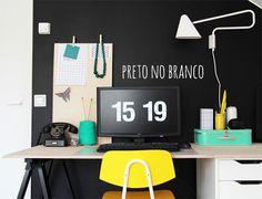 Paredes pretas - dcoracao.com - blog de decoração