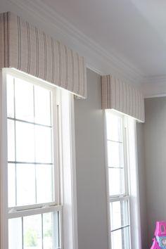 Window Cornices, Window Coverings, Window Cornice Diy, Cornice Ideas, Cornice Design, Cornice Boards, Curtain Ideas, Small Window Treatments, Wall Treatments