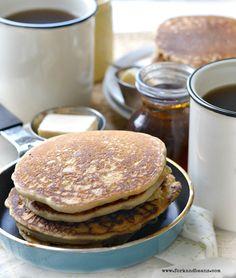 The Perfect Gluten-Free Vegan Pancake - Fork & Beans