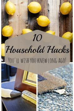 If only you knew then what you know now, things would have been a lot easier. Still, learning these amazing household hacks now is better than never learning them at all. Who would have thought that lemons could clean hard water stains, or that foil could double as a dryer sheet? Hacks like these make chores easier and, often, less expensive. Check out other amazing household hacks from eBay and start enjoying the extra time and money you will save.