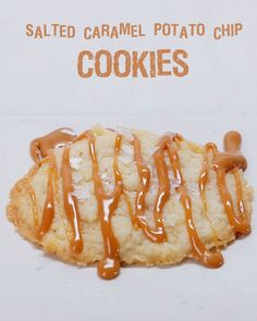 Salted Caramel Potato Chip Cookies