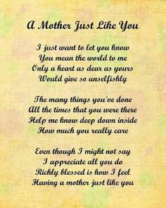 This is for you mum xo