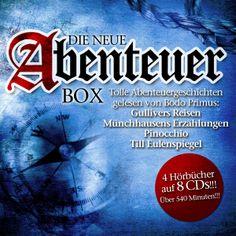 Die neue Abenteuer Box - Various Artists EAN: 0090204636631  Kaufen: http://www.hoerdeutsch.de/die-neue-abenteuer-box.html