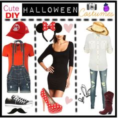 Cute DIY Halloween Costumes by tip-penguin on Polyvore
