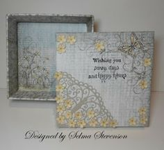 Selma's Stamping Corner and Floral Designs: Boxes