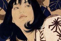 池永康晟 (Yasunari Ikenaga 1965-) 美人画の系譜 Genealogy of Portraying Beautiful Woman