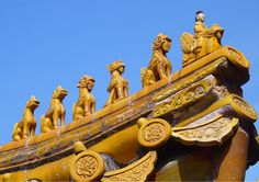 Details of the Summer Palace, Beijing, China. #travel