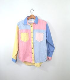 Men's Dress Shirt Gitano Shirt Men's Pastel by founditinatlanta