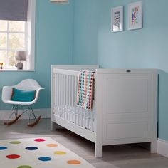 Soho white cot bed