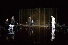 Scene from Shakespeare's Othello, directed by Ostermeier, 2011