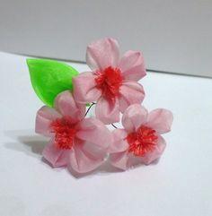 Silk peach blossoms - small pin by EruwaedhielElleth on DeviantArt