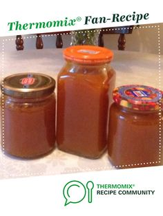 Easy Apricot Jam by Wendy Farrelly. A Thermomix <sup>®</sup> recipe in the category Sauces, dips & spreads on www.recipecommunity.com.au, the Thermomix <sup>®</sup> Community.
