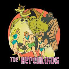 From Hanna Barbara's first Saturday morning action cartoon lineup .The Herculoids