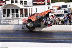 European Drag Racing Finals 2009 - Tony Betts 'Venom' Fuel Altered Dragster Crash