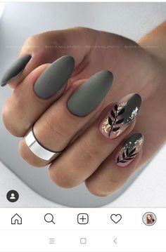 Nagellack Design, Nagellack Trends, Fall Acrylic Nails, Acrylic Nail Designs, Marble Acrylic Nails, Autumn Nails, Fall Nail Designs, Dream Nails, Love Nails