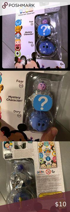 H Disney Tsum Tsum Figure Toy Inside Out Fear Pixar Small Tiny Vinyl