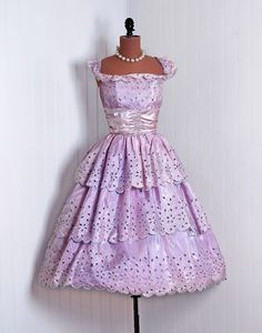1950's party dress, via Timeless Vixen Vintage.