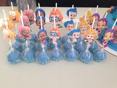Bubble guppies cakepops