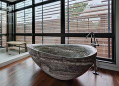 Luxurious Bathrooms: The most stunning natural rock bathtubs stunning natural rock bathtubs Luxurious Bathrooms: The most stunning natural rock bathtubs PapillonBathtub