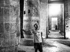 """Photographer Moises Saman documented the archeological excavations of Abydos, an Egyptian city """"frozen in time."""""""
