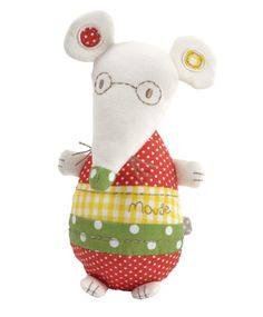 Elfie & Mop - Mouse Chime Toy