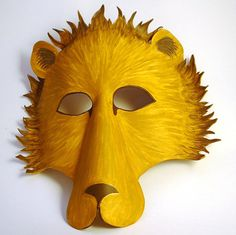 Gorgeous lion mask