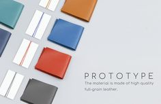 Concept design- leather prototype | Penclip Type-B by Ron and Thea — Kickstarter