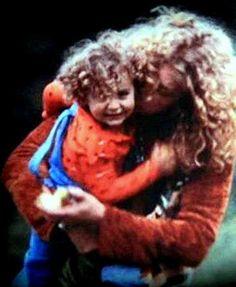 Robert Plant and his late son Karac Pendragon <3
