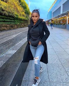 Chill Outfits, Mode Outfits, Cute Casual Outfits, Casual Chic, Stylish Outfits, Winter Fashion Outfits, Fall Winter Outfits, Autumn Fashion, Black Girl Fashion