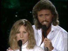 "Barbara Streisand & Barry Gibb  ""What Kind Of Fool""  wanted to add watching this whole thing right now i just got chills watching these 2 wonderful singers perform so magically together - wow"