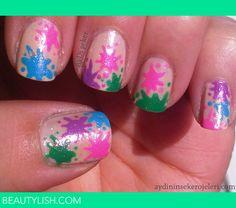 Splatter Nail Art | Aydi Ş.'s Photo | Beautylish
