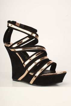 Who might doesn't absolutely adore gorgeous wedges?, view our marvelous variety of zip-back and belt wedges for every time! Shoes Wedges Boots, Wedge Boots, Womens Shoes Wedges, Shoe Boots, Rose Gold Heels, Gold Wedges, Prom Heels, Spring Shoes, Suede