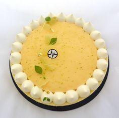 """Cheesecake aux trois citrons"" (Citron jaune, Citron vert, Combava)"