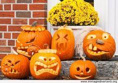 halloween zucche divertenti - Cerca con Google