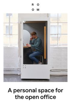 A personal space for the open office - Weihnachtsdeko Draußen Open Office, Small Apartments, Small Spaces, Couple Room, Layout, Piece A Vivre, Bedroom Black, Master Bedroom, Co Working