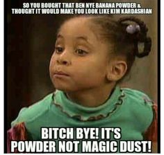 Makeup Meme..tearsssssss lmaoooo not gonna lie I do love this powder but some bitches think it's magical and shit and get a color that doesn't even work for their skin tone!!!! Ugh