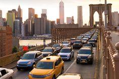 A New York, les services de VTC seraient une source d'embouteillage !