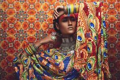 Kundalini Arts at http://kundalini.myshopify.com, #kundalini #art #arts #design #designer #fashion #accessories #silk #luxury, #Anushka #Menon, #Gautam #Kalra, #Surelee #Joseph, #Anand #Kaira, #india #indian #exotic #shakti #divine #colourful #beauty #women #woman #figurative #contemporary #collectable #peacock #peacocks #bangles #jewellery #eyes
