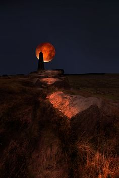 40 Amazing Eclipse Photos from Last Night's 'Super Blood Moon'  (blood moon by David Hobcote)
