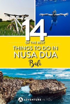Nusa Dua Bali | Planning a trip to Nusa Dua, Bali? Here are my top recommendations on things to do in Nusa Dua. From exploring the beaches to visiting temples, Nusa Dua has plenty of things to do.