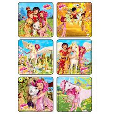 """Are you having a Mia & Me party or do you have a DIY project? Each pack contains 90 stickers. Measures 2.5"""" each. There are 6 different scenes. These are great to decorate treat bags, decorate tablewa"""