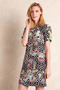 Floral Print Shift Dress - anthropologie.eu