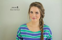 Love this braid for when my hair gets longer ...