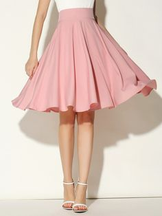 You're Worth It ❤️, mintykat:   pink flowy skirt from   from abaday ❀