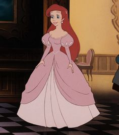 "This is princess ""casualwear."" You know, like what you wear to Thursday night dinner at home. 