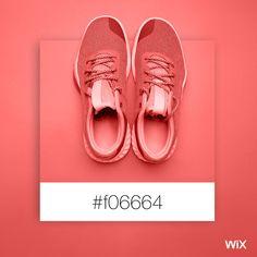 Color Palette Inspiration | Coral Shoes | #f06664