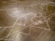 Peru Travel - The Mysterious Nazca Lines, if you take the risk on youself you… Ufo, Nazca Lines Peru, Inka, Human Figure Drawing, Equador, Mystery Of History, Ancient Mysteries, Peru Travel, South America Travel