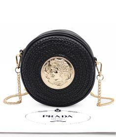 Women handbag Soft PU Leather Fashion Rivet bag Handbag with Shoulder Strap Crossbody Bag Watercolor Circles